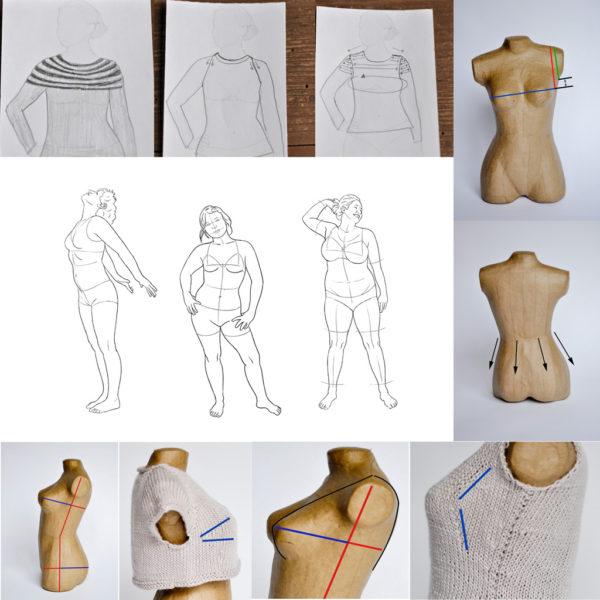 Morpho Tricot : Adapter un patron de tricot à sa morphologie